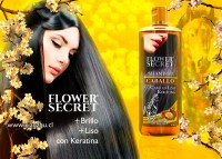 Shampoo para cabello liso Flower Secret-Pormayor.pe