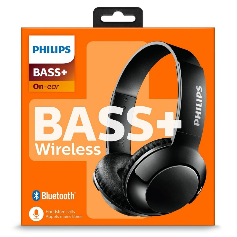 Philips - Audífono Bluetooth 41 SHB3075 Bass Wireless - Negro al pormayor