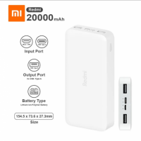 Power Bank 20000mah Xiaomi Redmi -Pormayor.pe