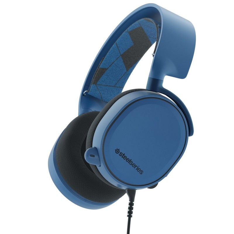 Steelseries - Audífono Arctis 3 Sound Surround - Azul al pormayor